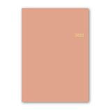 【2022年1月始まり】 日本能率協会 NOLTY メモリー3 A5 デイリー 2022-7133 ピンク│手帳・ダイアリー ダイアリー