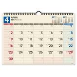 【2017年4月始まり・壁掛】 日本能率協会 NOLTY カレンダー壁掛け36 U136