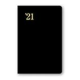 【2020年12月始まり】 日本能率協会 NOLTY 能率手帳1 小型版ポケットサイズ レフトタイプ 1111 黒 月曜始まり
