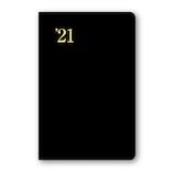 【2020年12月始まり】 日本能率協会 NOLTY 能率手帳2 小型版 日本鉄道地図付き ポケットサイズ レフトタイプ 1121 黒 月曜始まり