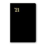 【2020年12月始まり】 日本能率協会 NOLTY 能率手帳1 ポケットサイズ 週間レフトタイプ 1211 黒 月曜始まり