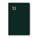 【2020年12月始まり】 日本能率協会 NOLTY 能率手帳1 ポケットサイズ 週間レフトタイプ 1215 緑 月曜始まり