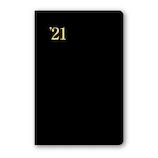 【2020年12月始まり】 日本能率協会 NOLTY 能率手帳2 日本鉄道地図付き ポケットサイズ 週間レフトタイプ 1221 黒 月曜始まり