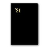 【2020年12月始まり】 日本能率協会 NOLTY 能率手帳4 ポケットサイズ 週間レフトタイプ 1226 黒 月曜始まり