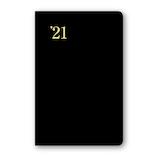【2020年12月始まり】 日本能率協会 NOLTY 能率手帳ゴールド 小型 週間レフトタイプ 3111 黒 月曜始まり