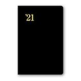 【2020年12月始まり】 日本能率協会 NOLTY 能率手帳ゴールド ポケットサイズ 週間レフトタイプ 3121 黒 月曜始まり