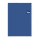 【2020年12月始まり】 日本能率協会 NOLTY リフレ3 A5 週間レフトタイプ 6238 ブルー 月曜始まり