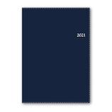 【2021年1月始まり】 日本能率協会 NOLTY メモリー2 A5 1ページ1日 7121 ネイビー