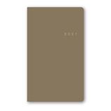【2020年12月始まり】 日本能率協会 NOLTY アクセスマンスリー ポケットサイズ 月間ブロックタイプ 1641 グレージュ 日曜始まり
