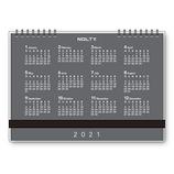 【2021年1月始まり】 日本能率協会 NOLTY デスクトップダイアリー B6 カレンダータイプ 2350 月曜始まり