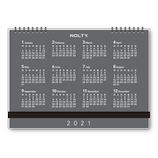 【2021年1月始まり】 日本能率協会 NOLTY デスクトップダイアリー A5 カレンダータイプ 6350 月曜始まり