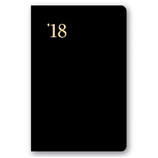 【2018年4月始まり】 N0LTY 能率手帳1 小型版 ウィークリー 9001 黒 月曜始まり