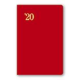 【2019年12月始まり】 日本能率協会 NOLTY 能率手帳1 小型 ウィークリー 1218 ニューレッド 月曜始まり
