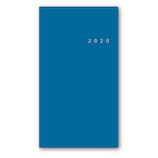 【2019年12月始まり】 日本能率協会 NOLTY リスティ1 A5スリム ウィークリー 6500 スカイブルー 月曜始まり