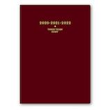 【2020年1月始まり】 日本能率協会 NOLTY メモリー3年日誌 A5 3年連用 7331 エンジ
