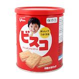江崎グリコ ビスコ保存缶 5枚×6パック