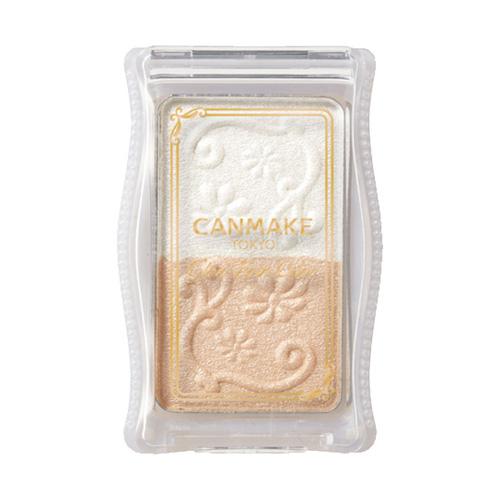 キャンメイク(CANMAKE) グロウツインカラー ホワイトベージュ 01