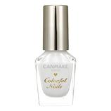 キャンメイク(CANMAKE) カラフルネイルズ N01 ホワイト 8mL