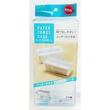 オーエ ペーパータオルケース クリア 1個入│洗面用具・洗面所用品 ティッシュケース・カバー