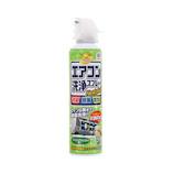 アース製薬 らくハピ エアコン洗浄スプレー Nextplus フレッシュフォレストの香り 420mL│掃除用洗剤 その他 掃除用洗剤