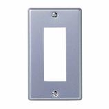 ELPA 新金属プレート3口 PL-S03H│配線用品・電気材料 スイッチプレート