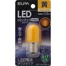ELPA LEDナツメE17 LDT1Y-G-E17-G113