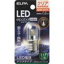 ELPA LEDナツメ LDT1CL-G-E17-G116│LED電球・LED蛍光灯