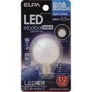 ELPA LED電球G30 LDG1N-G-E12-G230