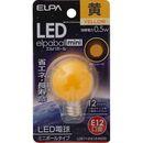 ELPA LED電球G30 LDG1Y-G-E12-G233