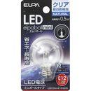 ELPA LED電球G30 LDG1CN-G-E12-G235