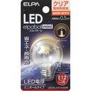 ELPA LED電球G30 LDG1CL-G-E12-G236