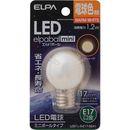 ELPA LED電球G30 LDG1L-G-E17-G241