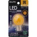 ELPA LED電球G30 LDG1Y-G-E17-G243