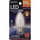 ELPA LEDローソク形 LDC1L-G-E12-G301