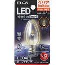 ELPA LEDローソク形 LDC1CL-G-E12-G306