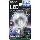 ELPA LED電球S型 LDA1CN-G-E17-G455