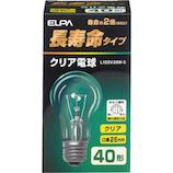 エルパ(ELPA) 長寿命タイプ クリア電球 L100V38W-C