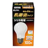 エルパ(ELPA) 長寿命タイプ シリカ電球 LW100V95W-W