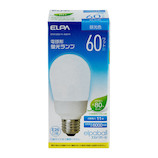 エルパ(ELPA) 電球形蛍光ランプ 60W形 EFA15ED/11-A061H 昼光色