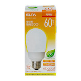 エルパ(ELPA) 電球形蛍光ランプ 60W形 EFA15EL/11-A062H 電球色