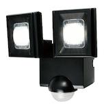 エルパ(ELPA) 屋外用 LEDセンサーライト 乾電池式 ESL‐N112DC│防犯センサー 防犯カメラ・センサーライト