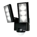 エルパ(ELPA) 新乾電池式 センサーライト ESL−312DC│防犯センサー 防犯カメラ・センサーライト