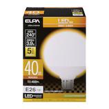 エルパ(ELPA) 電球ボール形 LDG4L−G−G2102 電球色│LED電球・LED蛍光灯