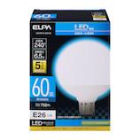 エルパ(ELPA) 電球ボール形 LDG7D−G−G2103 昼白色│LED電球・LED蛍光灯