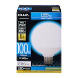 エルパ(ELPA) 電球ボール形 LDG13D−G−G2105 昼白色│LED電球・LED蛍光灯
