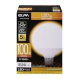 エルパ(ELPA) 電球ボール形 LDG13L−G−G2106 電球色│LED電球・LED蛍光灯