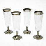 アートナップ プラシャンパングラス 4個入 PA−10│食器・カトラリー グラス・タンブラー
