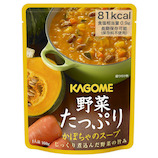 カゴメ 野菜たっぷり かぼちゃのスープ