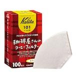 カリタ 珈琲屋さんのコーヒーフィルター 101 ホワイト 100枚