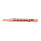 呉竹 ブラッシュハイライトサッと BHS−55−111S 蛍光オレンジ│マーカー・サインペン 蛍光ペン